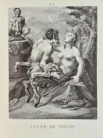 Agostino Carracci Erotik Vagina Penis Akt Faun Satyr Erektion Antike Priapus