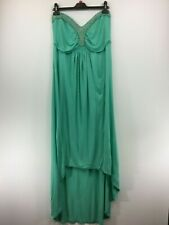 NEXT ladies dress strapless turquoise blue size 22