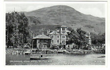 Drummon Arms Hotel - St Fillans Photo Postcard c1930s