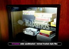 Habanos Cigar Humidor Decal 10.0in - Frosted / Etched - Wineador Humidor Sticker