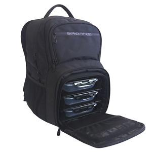6 PACK FITNESS EXPEDITION 300 BACKPACK MEAL MANAGEMENT BAG SIX PACK BAG STEALTH