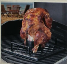 """CAMPING GRILL Stansport Beer SODA Can Chicken Cooker 9"""" X 8.5"""""""