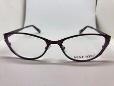 38a615078fa NEW Nine West NW 1003 263 Brown Lilac 52.17.135 Women s Eyeglass Frames