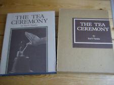 The Tea Ceremony - Seno Tanaka - VINTAGE - Tee Zeremonie 1 Ausgabe 1973 - TOP
