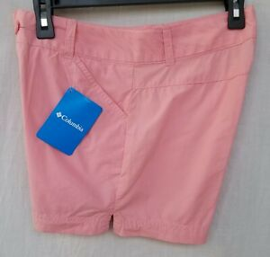 New Women's Columbia Washed Out Shorts XL6282 689 Pink