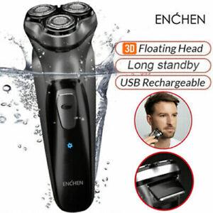 Enchen BlackStone 3D Electric Shaver Razor Facial Trimmer Washable for men