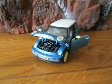 Mini Cooper Blue Ss 6711 2001 Diecast 1:24 Scale (G scale) Collectors Toy Car