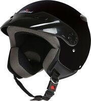CASCO DEMI JET EASY CON FRONTINO SCOTLAND MOTO SCOOTER HELMET cod. 120014 NEW