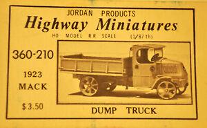 HIGHWAY MINIATURES - Autocarro ribaltabile MACK - scatola originale
