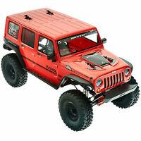 Axial 1/10 SCX10 II 2017 Jeep Wrangler Unlmt CRC 4 Wheel Drive Rock Crawler