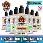 E-Liquid Vape Juice SPARTAN VAPOURS 100ml Max VG 70/30 PG No Nicotine ShortFill <br/> ✅ADD 3 PAY FOR 2 ✅ADD 8 PAY FOR 5 ✅ UK MADE ✅ UK STOCK