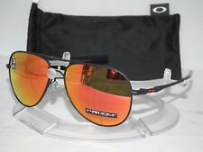 OAKLEY Elmont L Large Aviator Sunglasses OO4119-1360 Satin Black / Prizm Ruby