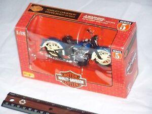 1998 HARLEY DAVIDSON MOTORCYCLES 1936 EL KNUCKLEHEAD Diecast Model Bike Series 5