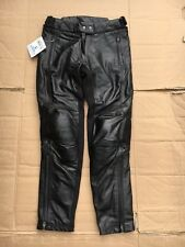 "RST KATE LADIES LEATHER MOTORCYCLE TROUSER  UK 12 or 30"" to 31"" waist  No9"