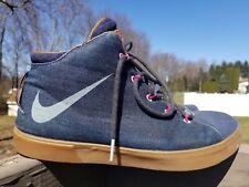 Nike Lebron XII NSW Lifestyle QS Denim Sneaker 716424-400 Mens Size 12