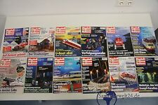 alte Zeitschrift Modelleisenbahner Jahrgang 1999 Heft 1-12