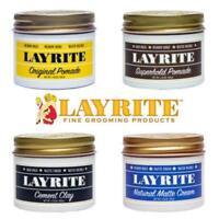 Layrite Original,Super Hold, Matte Cream, Cement, Pomade 4.25oz