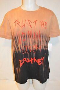 ELEVEN PARIS Man's TRUST NO WOMAN T-Shirt NEW  Size Large  Retail $72