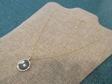 Gorjana Star Coin Necklace gold plated