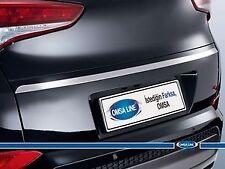 FITS Hyundai Tucson Chrome Tailgate Trim Line S.Steel 2015-UP