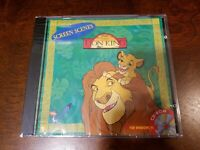 """Disney's """"The Lion King"""" WINDOWS PC CD-ROM - Screen Scenes and wallpaper"""