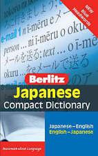 Berlitz Language: Japanese Compact Dictionary: Japanese-English : English-Japane