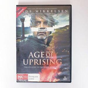 Age Of Uprising DVD Region 4 PAL Free Postage - Arthouse Drama Fantasy