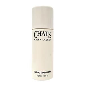 Vintage Ralph Lauren Chaps Foaming Shave Cream Shaving Cosmair 5.3 oz NOS