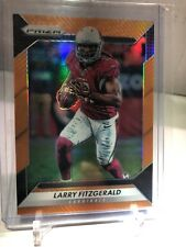 2016 Panini prizm football Larry Fitzgerald 2/299 Orange Cardinals