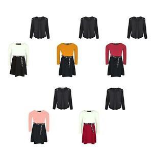 Girls Tik Tok Belt Skater Dress Waterfall Pearl Shoulder Blazer Set Bundle 3-14