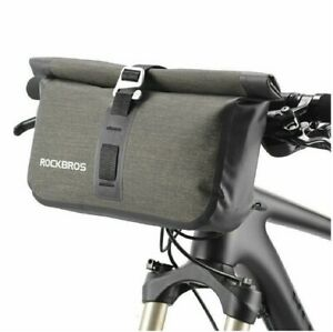ROCKBROS Fahrrad Lenkertasche Rahmentasche Fahrradtasche Wasserdicht, 5 Liter