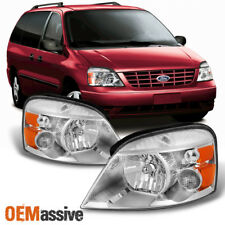Fit 2004-2007 Ford Freestar | 2004-2007 Mercury Monterey Both Side Headlights