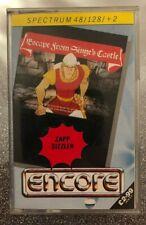 Dragons Lair 2 : Escape from Singes Castle : ZX Spectrum : 48K : 128K : Encore
