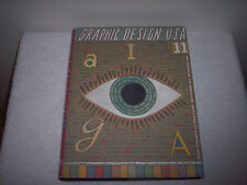 Graphic Design U. S. A. Vol.11 by Alga and Steven Heller (1990, Hardcover)