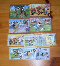 2010 Looney Tunes kompletter Satz Superpuzzle inkl. 5 BPZ