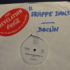 """MAXI 12"""" DACLIN Frappe danse GRI 1961-7 PROMO Révélation FRANCOFOLIES 1995"""