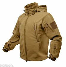 9867 Rothco Coyote Brown operaciones especiales funcional chaqueta Softshell Medium