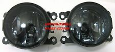 VAUXHALL OPEL ZAFIRA B VXR TINTED FOG LAMPS PAIR DARK SMOKED FOG LIGHTS + BULBS