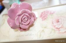 Lisbeth Dahl Knopf Möbelknopf ROSE rosa Kommode Möbelgriff Landhaus Shabby Chic