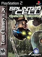 New Sealed Tom Clancy's Splinter Cell Chaos Theory (Playstation 2, 2005)