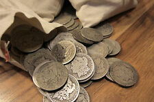 Survival Money 1878-1904 Morgan Dollar 90% Silver Circulated Mixed Lot Coin