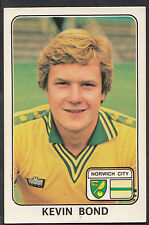 Panini 1979 Football Sticker - No 266 - Kevin Bond - Norwich City