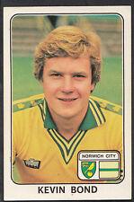 PANINI 1979 ADESIVO DI CALCIO-N. 266-Kevin Bond-Norwich City