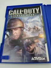 Call of Duty: Finest Hour PS2 Combat Game