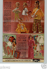 1971 PAPER AD Doll Candy Polly Doree Dawn Poni Toddles Baby Carrier Horsman