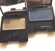 Avon Eye Gleam Cream Shadow Aquamarine, Olive Branch Lot of 2 Mirror Compacts