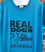 Greyhound T Shirt Size Large (Greyhound Adoption)