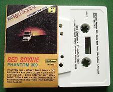 Red Sovine Phantom 309 Hollywood Label HT-117 Cassette Tape - TESTED
