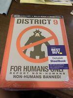 District 9 4k UHD Bluray Best Buy Steelbook - Brand New Sealed!!!