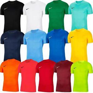 Nike T Shirt Boys Girls Junior Top Kids Football Gym Sport Age 7 8 9 10 11 12 13